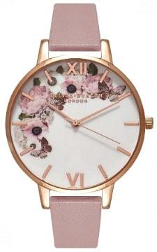 lyserødt ur