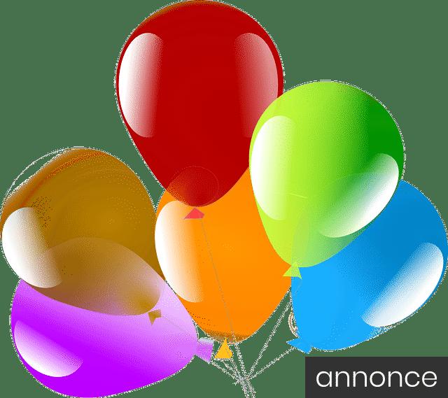 Pynt festligt op til din 18-års fødselsdag med latex-balloner og årstidens farver