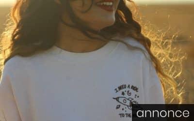 Tryk på langærmet T-shirts, smart til flere lejligheder.